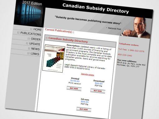 Canadian Publications